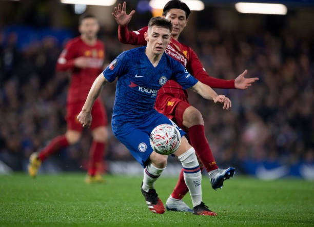 Lampard described Billy Gilmour's display in his side's win against Liverpool in the FA Cup as 'incredible'. [Getty]