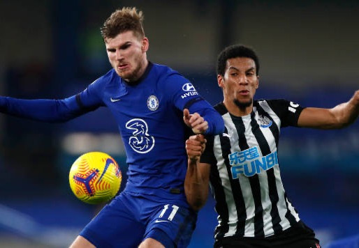 Chelsea FC Timo Werner: 'Happy that I scored, finally.'