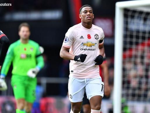 Martial has got a great platform at Man Utd.