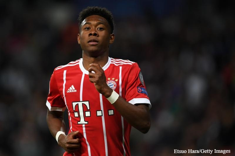 Alaba hasn't agreed to sign a new contract extension with Bayern.