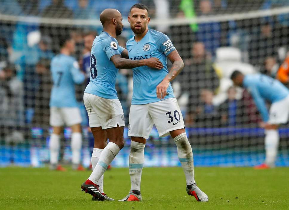 Otamendi has fallen behind John Stones and Aymeric Laporte in the centre-back pecking order.