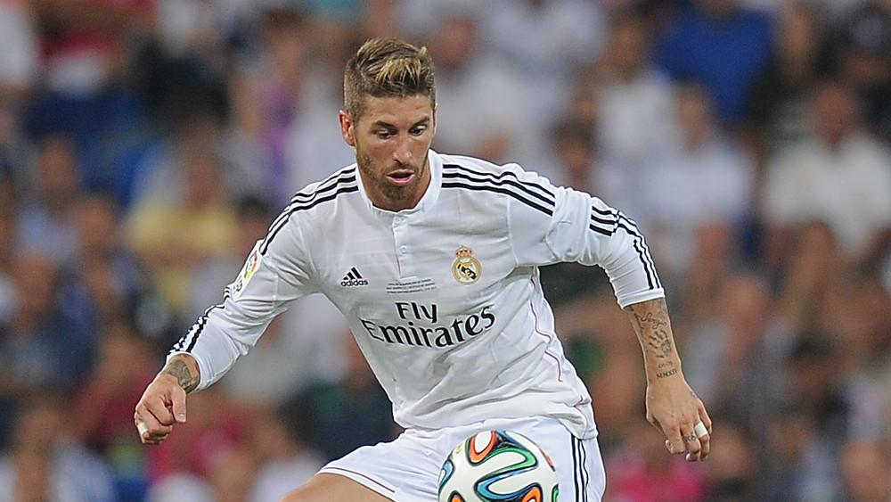 Sergio Ramos Real Madrid.