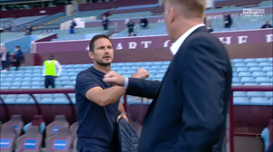 Frank Lampard pleased with Chelsea win over Villa.