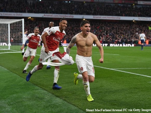 "Arsenal legend lauds ""fearless"" Torreira."