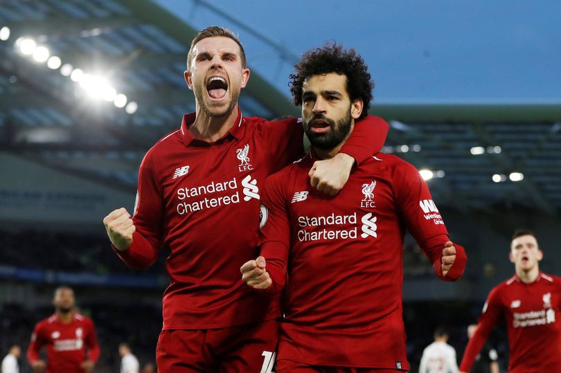 Salah's goal the difference at Brighton.