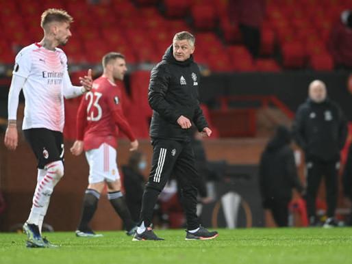 Last-gasp equaliser makes it harder for Man Utd, says Solskjær.