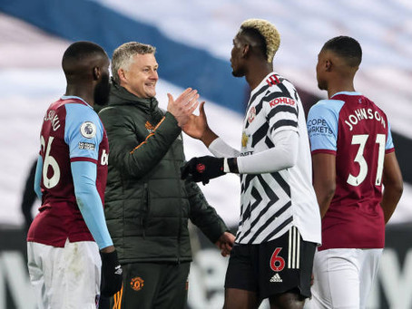Solskjaer believes Man Utd are 'becoming more consistent'