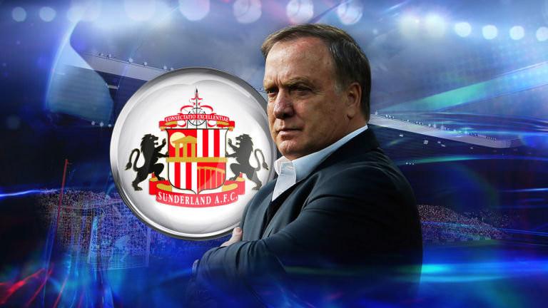 Advocaat, new Sunderland boss.