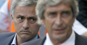 Manuel Pellegrini accused Mourinho's side of playing like a small team.
