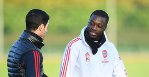 Arteta reckons there is a lot more to come from Arsenal winger Nicolas Pepe.