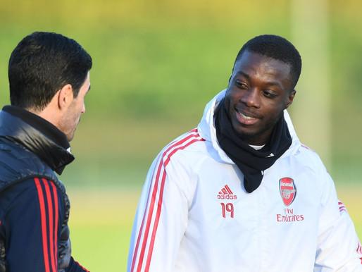 Arsenal legend Ian Wright hails the resurgence of Nicolas Pepe.