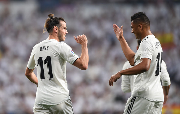 Gareth Bale and Henrique Casemiro. [Source: Denis Doyle/Getty Images Europe]]
