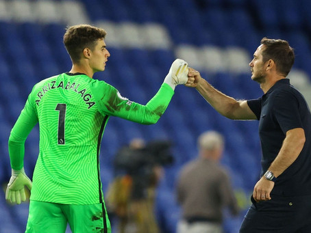 Lampard is not under pressure to sell Chelsea goalkeeper Arrizabalaga.