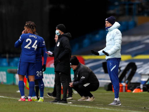 Thomas Tuchel takes positives from Chelsea draw with Leeds.