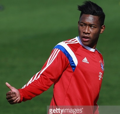 Alaba is focused only on Bayern Munich's bid for Champions League glory