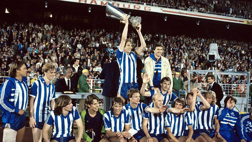 IFK Göteborg 1981-1982 UEFA Cup winners (4:0 on aggregate against HSV). [Facebook / Old football Pictures]