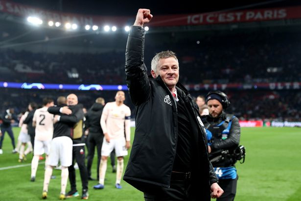 United's historic Champions League win over PSG ended any doubt over Solskjaer's future (Image: Getty)