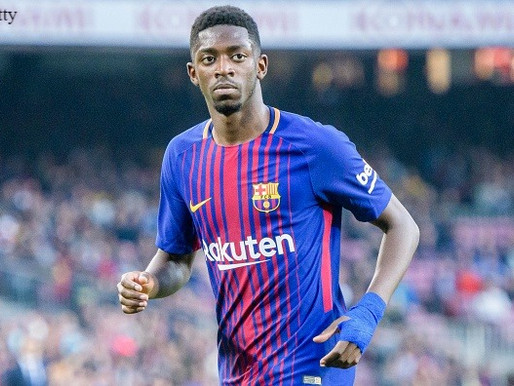 Dembele must learn from experienced Barca players-Suarez.