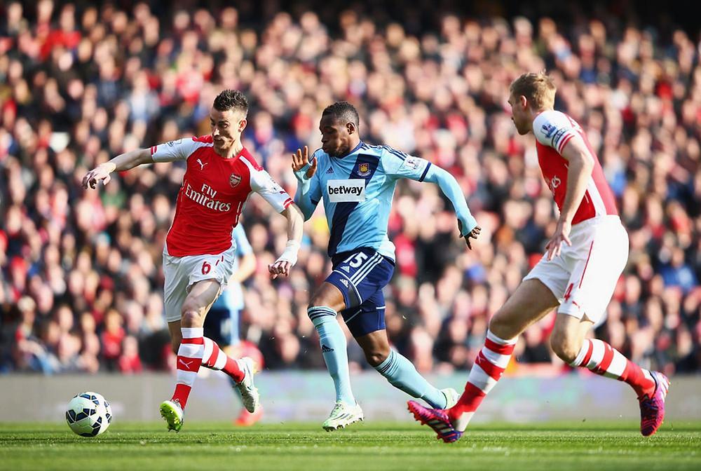 Arsenal beat West Ham 3-0 on Saturday.
