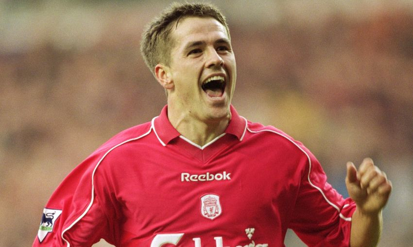 Owen scored more than 150 goals for the Reds across eight seasons. [Liverpoolfc.com]
