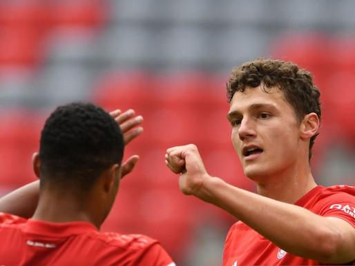 "Bayern Munich defender Benjamin Pavard: ""We want to make the treble."""