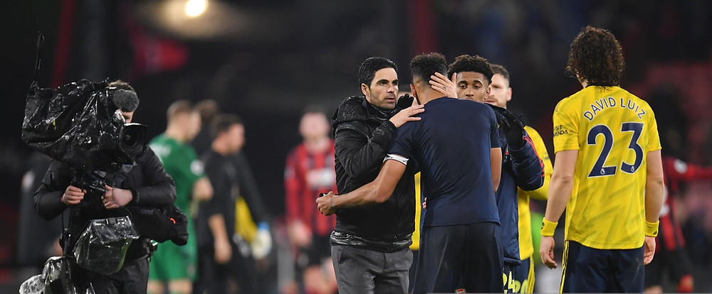 Arteta says Aubameyang is willing to stay at Arsenal. [Getty]