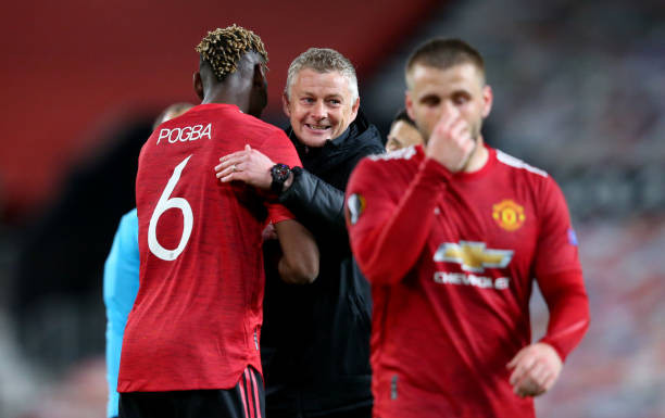 Solskjaer pleased with performance of Man Utd creative players [GETTY]