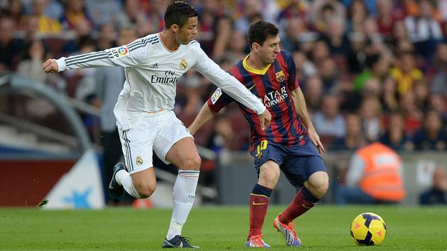 Cristiano Ronaldo (Left) & Lionel Messi (Right)