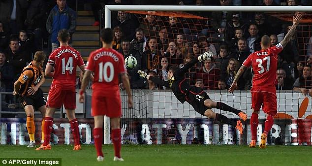 Hull 0-1 Liverpool.