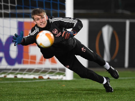 Iceland shotstopper Alex Runarsson is keen to be first choice at Arsenal.