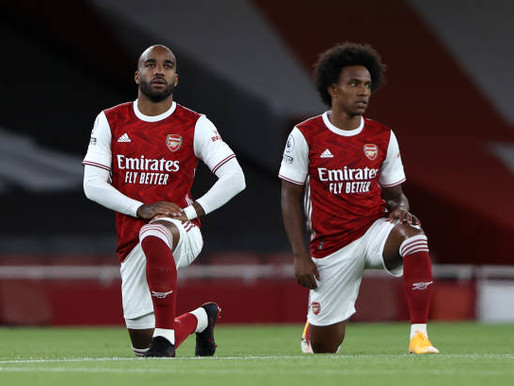 Alexandre Lacazette's Arsenal future to be discussed in the summer.