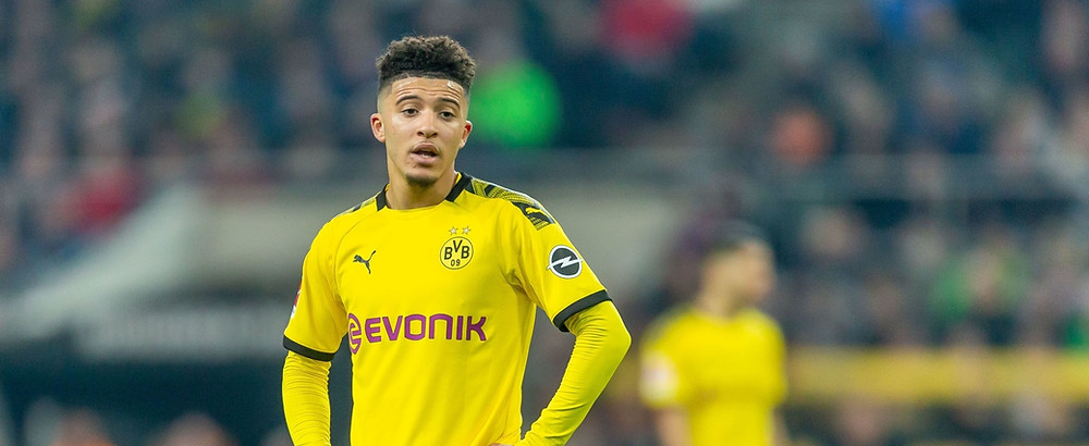 The England winger's future at Dortmund remains uncertain. [Getty]