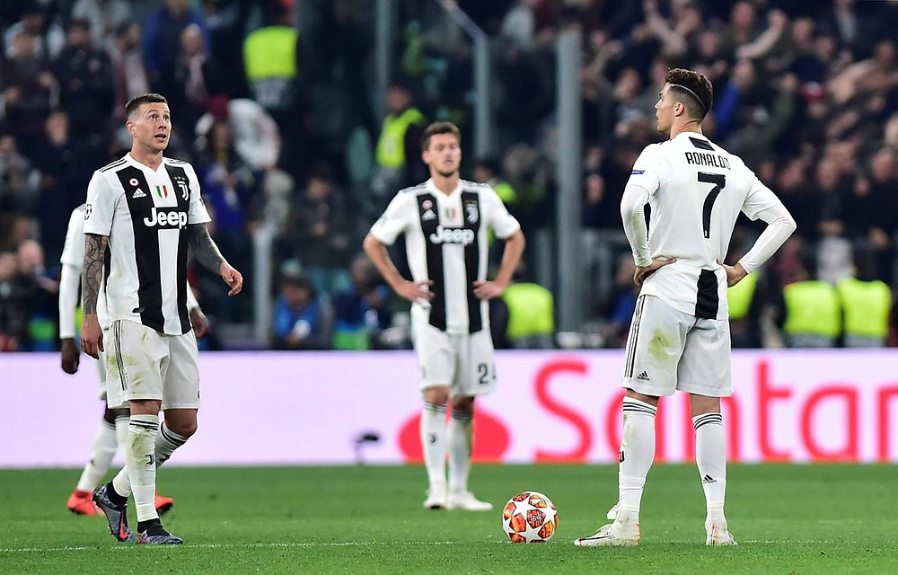 Juve were kncoked out. [Reuters]