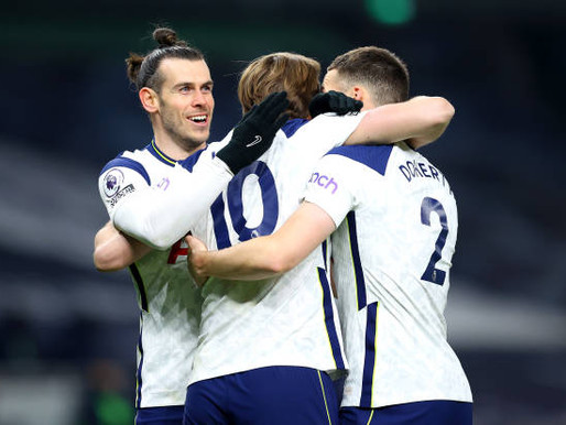 Gareth Bale after Spurs seal 4-1 win over Crystal Palace.