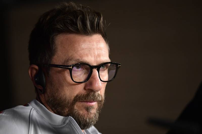 AS Roma have parted ways with manager Eusebio Di Francesco after the team were knocked out of the UEFA Champions League by Porto. [JAVIER SORIANO/Getty Images]