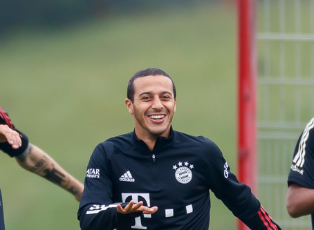 Thiago Alcantara close to joining Premier League champions Liverpool.