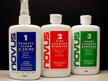 8 oz. Bottles Novus Acrylic System Set  No.1,2,3