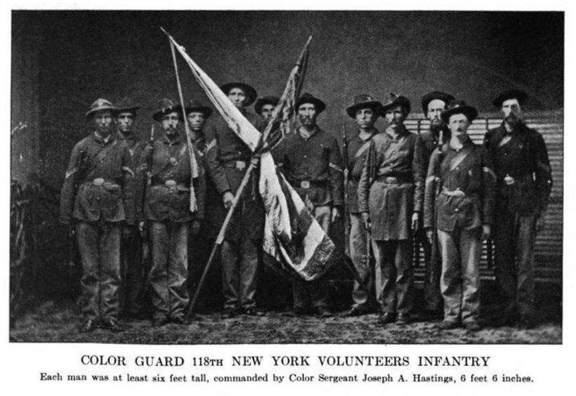 118th New York Volunteer Infantry Civil War