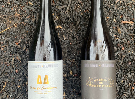 Local Collaboration Blurs the Line Between Wine & Beer