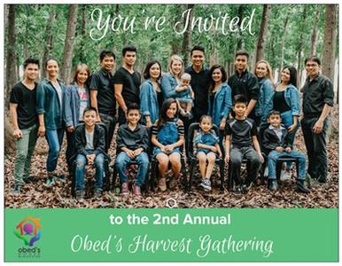 RSVP for the Obed's Harvest Gathering