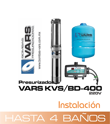 Presurizador VARS KVS/BD-400