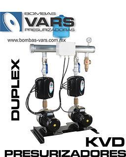Presurizadores de agua múltiples
