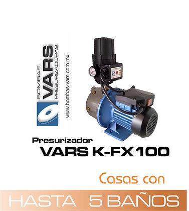 Presurizador VARS K-FX100 (Línea económica)