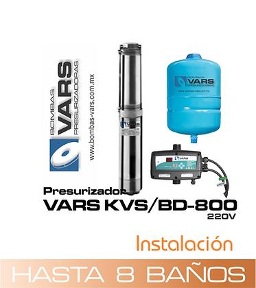 Presurizador VARS KVS/BD-800