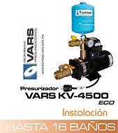 Presurizador de agua VARS KV-4500