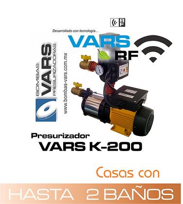 Presurizador VARS K-200i RF