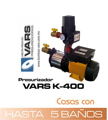 Presurizador VARS K-400