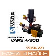 Presurizador de agua vars K-300