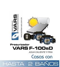 Presurizador de agua caliente VARS F-100sD