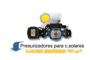 Presurizador calentador solar